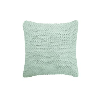 Kelsey Cotton Throw Pillow Color: Aqua