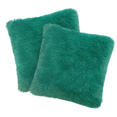 Alexus Throw Pillow Color: Teal