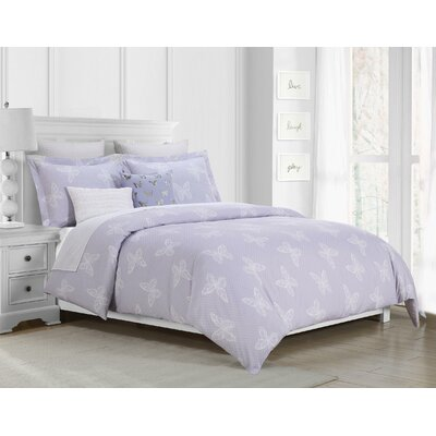 Gerardo Dot 4 Piece Reversible Comforter Set