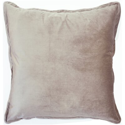 Velvet Euro Pillow Color: Neutral