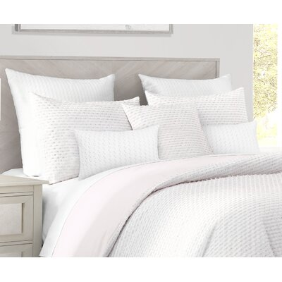 Stetson 3 Piece Reversible Duvet Cover Set Size: Queen