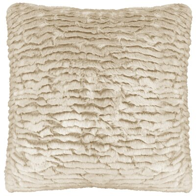 Zeller Rippled Faux FurThrow Pillow