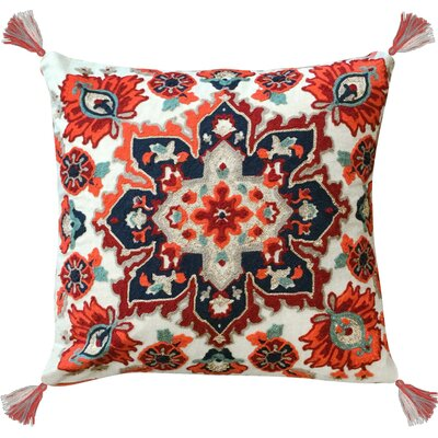Kolton 100% Cotton Throw Pillow