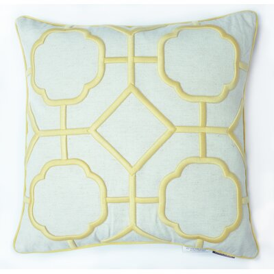 Hartzog 100% Cotton Throw Pillow