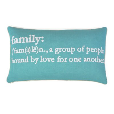 Absher Family Definition Lumbar Pillow
