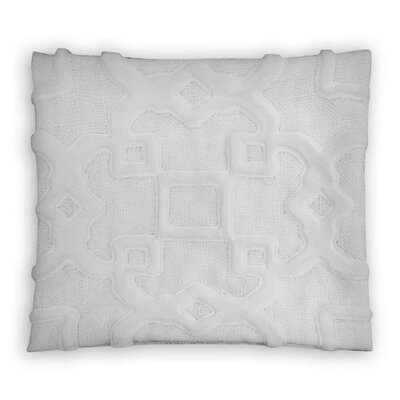 Gi Trellis 100% Cotton Throw Pillow