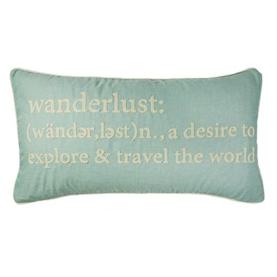 Ables Wanderlust Definition Lumbar Pillow