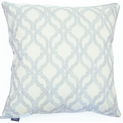 Ardentown Sequin Embroidered 100% Cotton Accent Pillow