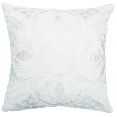 Ethelinda Embroidered Cotton Accent Pillow