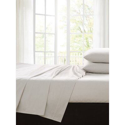 Ingles 200 Thread Count 100% Cotton Sheet Set Color: Natural