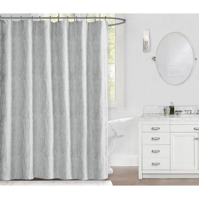 Lawrence 100% Cotton Shower Curtain