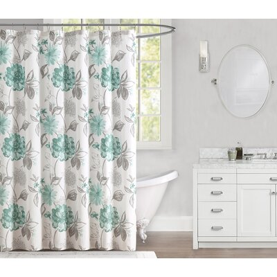 Millbourne 100% Cotton Shower Curtain