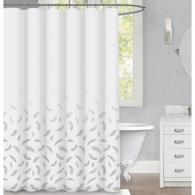 Zaliki Feather Shower Curtain