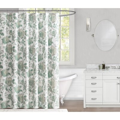 Evrard 100% Cotton Shower Curtain