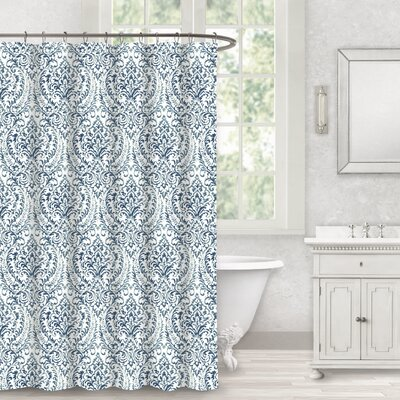 Bissett 100% Cotton Shower Curtain