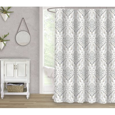 Portia 100% Cotton Shower Curtain