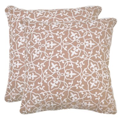 Philippe 100% Cotton Throw Pillow