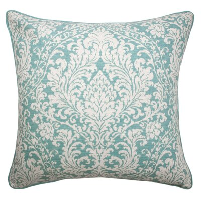 Campfield Printed 100% Cotton Throw Pillow
