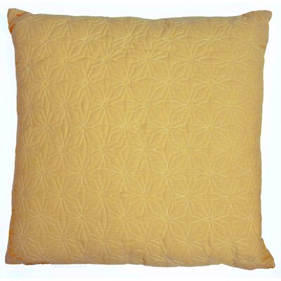Chamberlin Quilted Throw Pillow Color: Golden Rod