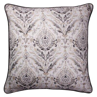 Campton Printed 100% Cotton Throw Pillow Color: Natural