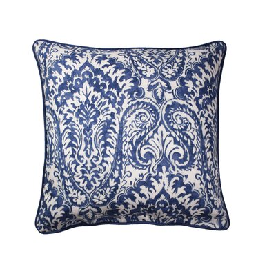 Canales Printed Throw Pillow Color: Nay/White