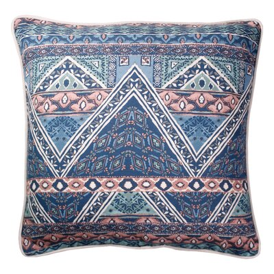 Bearpaw Printed 100% Cotton Throw Pillow Color: Navy