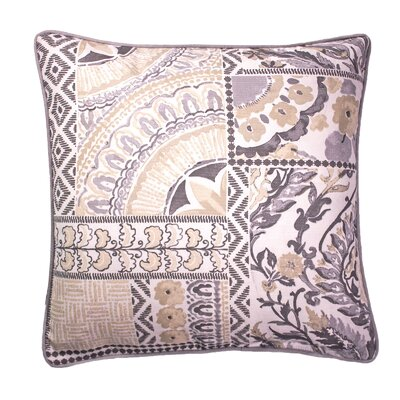 Tayla Printed 100% Cotton Throw Pillow Color: Neutral