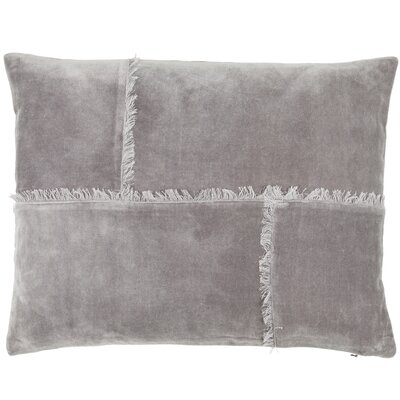 Rustic Scandinavian Mithra Cotton Lumbar Pillow