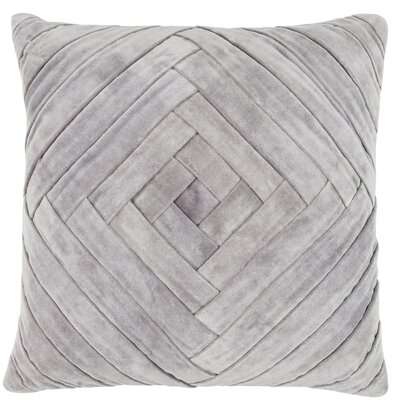 Rustic Scandinavian Marisa Cotton Throw Pillow