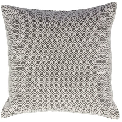 Modern Romance Wanda Throw Pillow Color: Gray