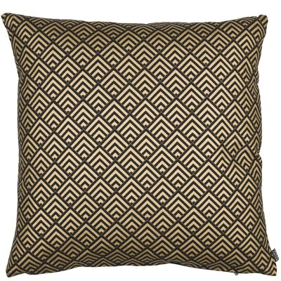 Classic Trend Gatsby Cotton Throw Pillow Color: Black/Gold