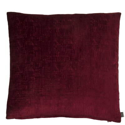 Classic Trend Geneva Throw Pillow Color: Bordeaux