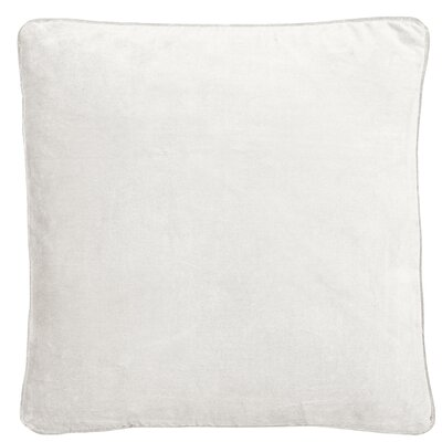 Essentials Veronica Cotton Throw Pillow Color: Off White