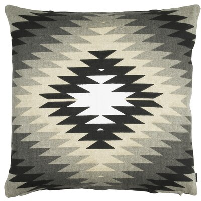 Roots Yellowstone Cotton Throw Pillow Color: Gray