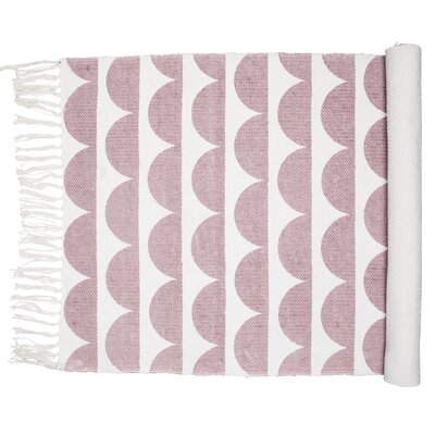Nordic Icon Oslo Dusty Pink Area Rug