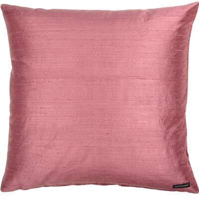 Essentials Dupion Silk Throw Pillow Color: Orchid