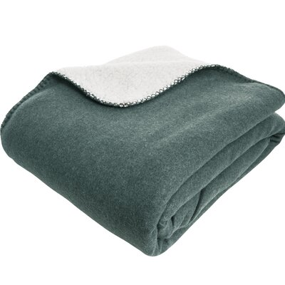 Essentials Silja Throw Color: Petrol