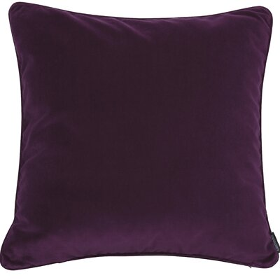 Essentials Veronica Cotton Throw Pillow Color: Berry Pink