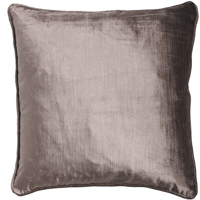 Essentials Lovisa Throw Pillow Color: Silver