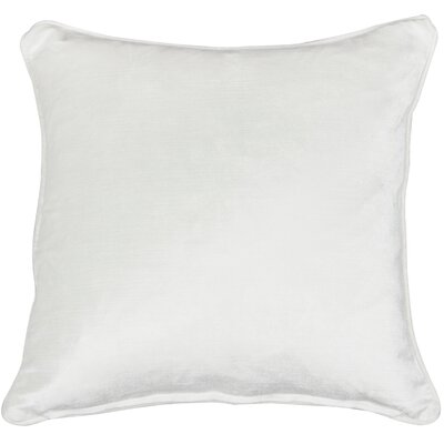 Essentials Lovisa Throw Pillow Color: White