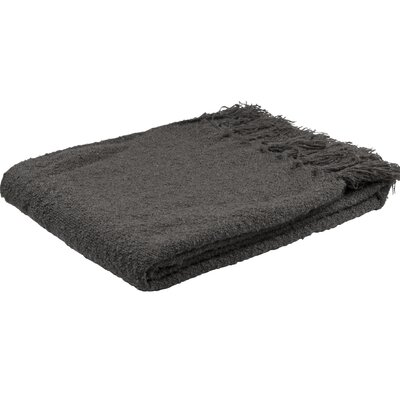 Essentials Scotland Throw Color: Anthracite