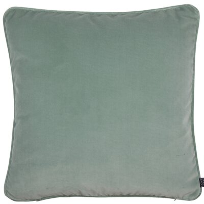Essentials Veronica Cotton Throw Pillow Color: Dusty Mint