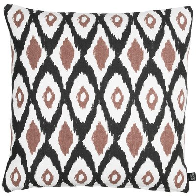 Roots Oval Cotton Throw Pillow