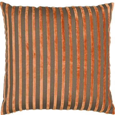 Classic Trend Ormond Throw Pillow Color: Orange