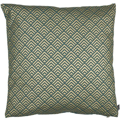Classic Trend Gatsby Cotton Throw Pillow Color: Emerald/Gold