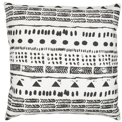 Roots Tribe Cotton Throw Pillow