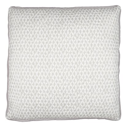 Rustic Scandinavian Etno Throw Pillow Color: Beige