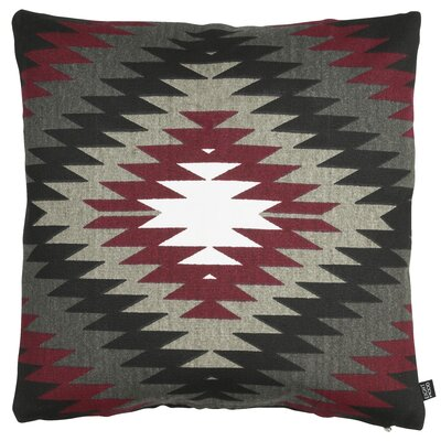 Roots Yellowstone Cotton Throw Pillow Color: Red