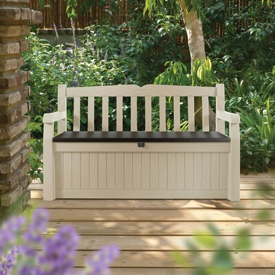 Eden Garden 70 Gallon Wood Storage Bench