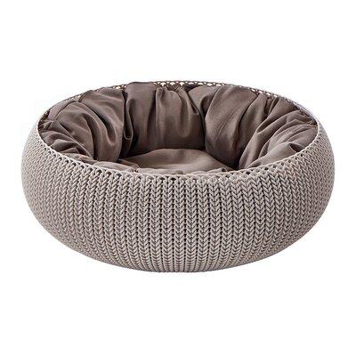 Knit Cozy Pet Bed